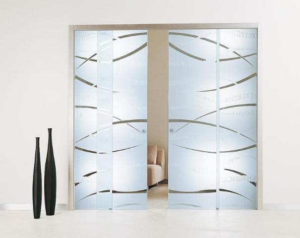 Dise o de cristal templado y acr lico products for Duchas con puertas de vidrio